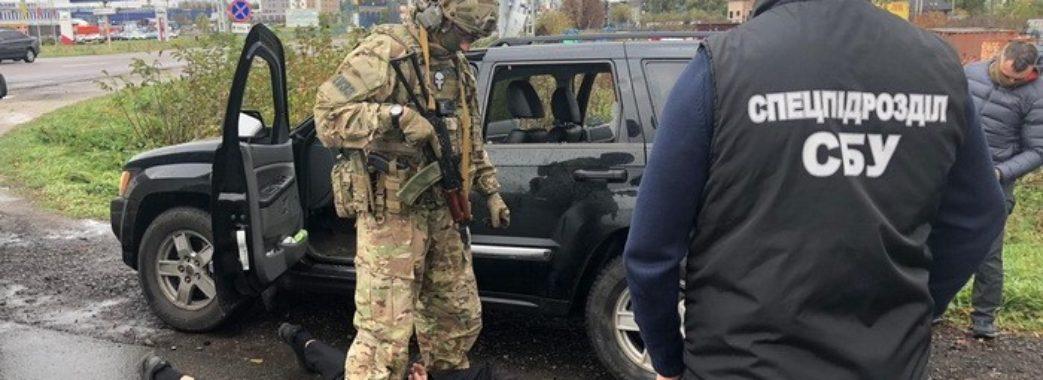 СБУ заблокувала масштабний збут зброї