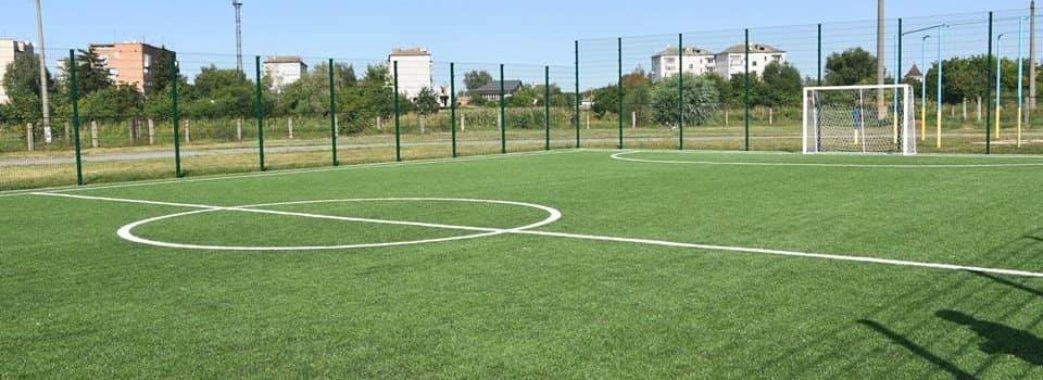 У Брюховичах буде перше штучне футбольне поле