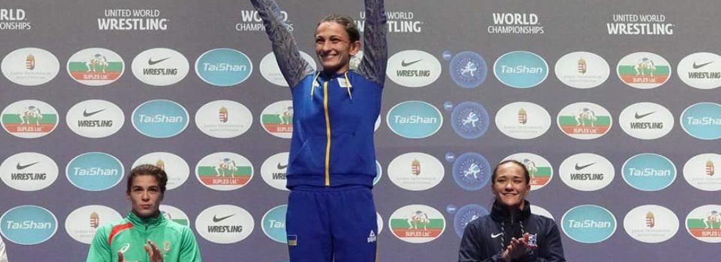 Львівські борчині – призерки чемпіонату світу