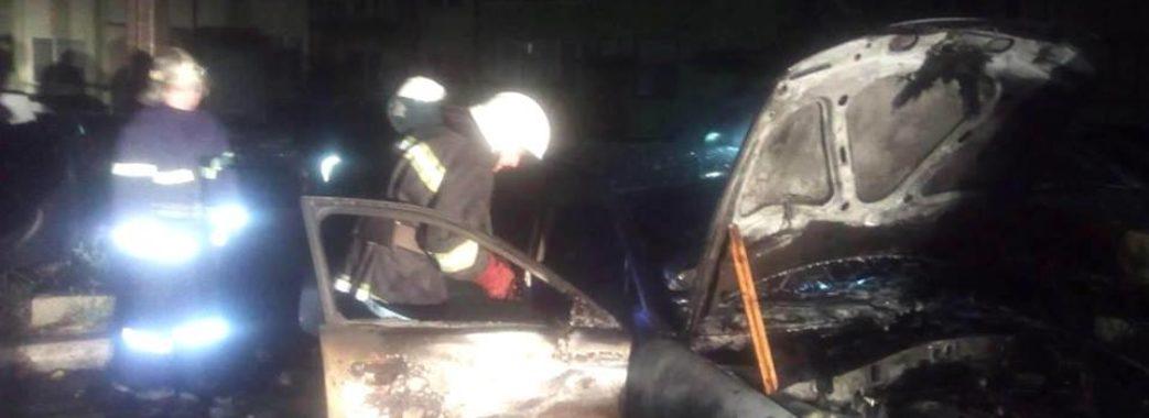 На Львівщині горіли автомобілі