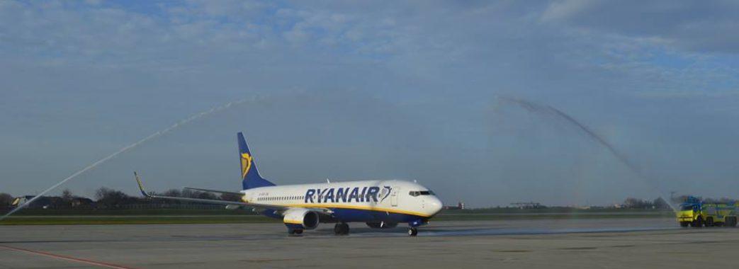 Зі Львова вилетів перший літак Ryanair (фото)