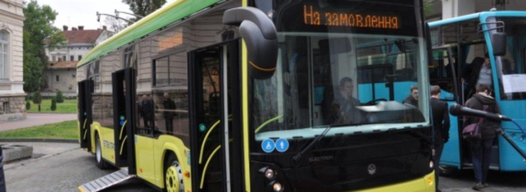 100 нових електробусів