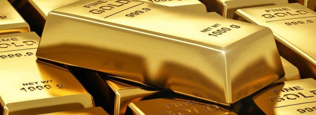 Золото в банці з фарбою