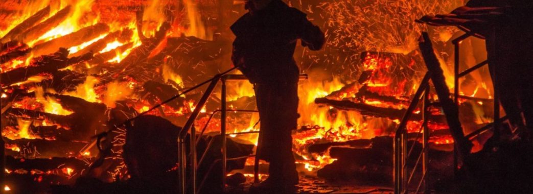 Старосамбірщина: пожежа на пилорамі