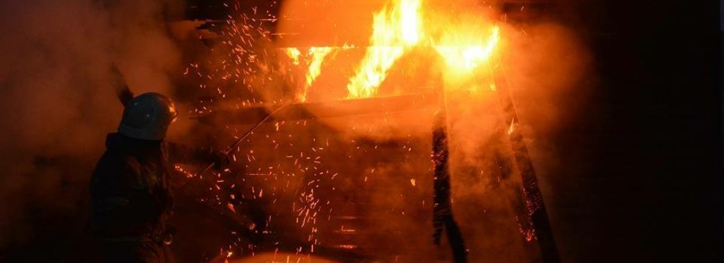 На Сколівщині згорів будинок