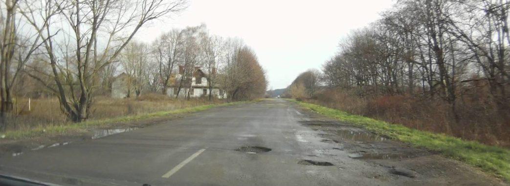 На Львівщині мешканці перекривали дорогу