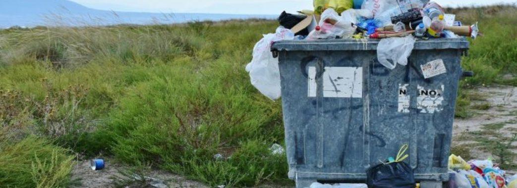 Верещиця у смітті
