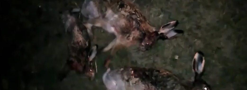 На Жовківщині на гарячому затримали браконьєрів