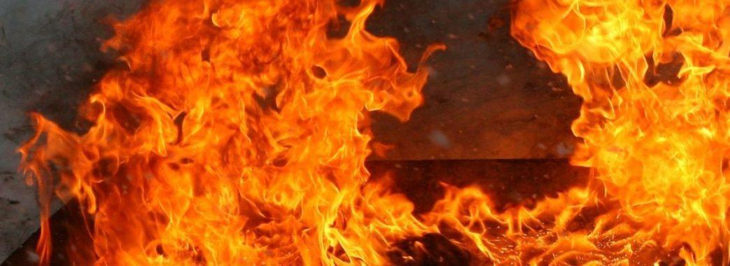 У Львові загорівся гараж