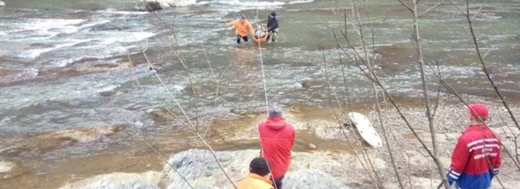 Як на Сколівщині рятували чоловіка