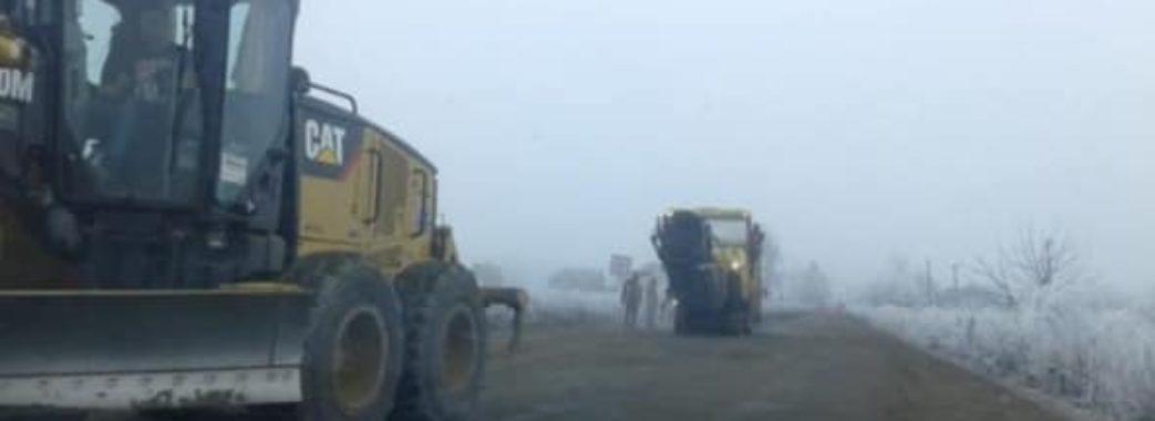 На Сокальщині ремонтують дорогу