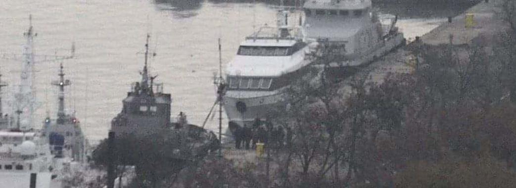 Українські судна вже в порту Керчі