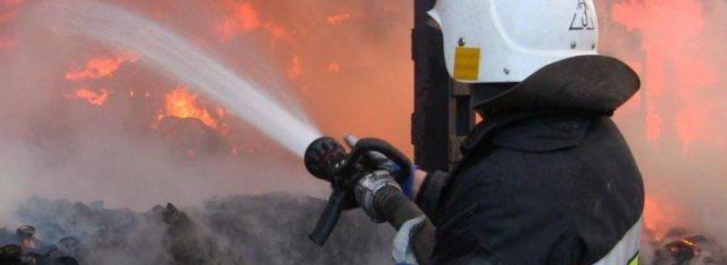 Під час пожежі у Червонограді постраждав юнак