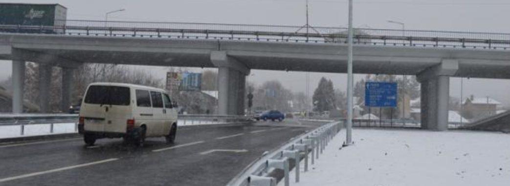 Нова транспортна розв'язка поблизу Винник