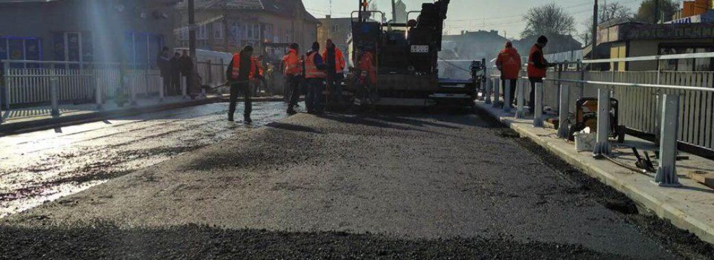 У Городку завершують ремонт моста