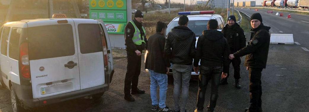 Правоохоронці затримали нелегалів з Афганістану