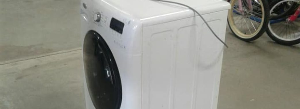 У Львові двоє зловмисників викрали пральну машинку