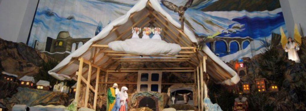Львівську Різдвяну шопку розмалювали діти