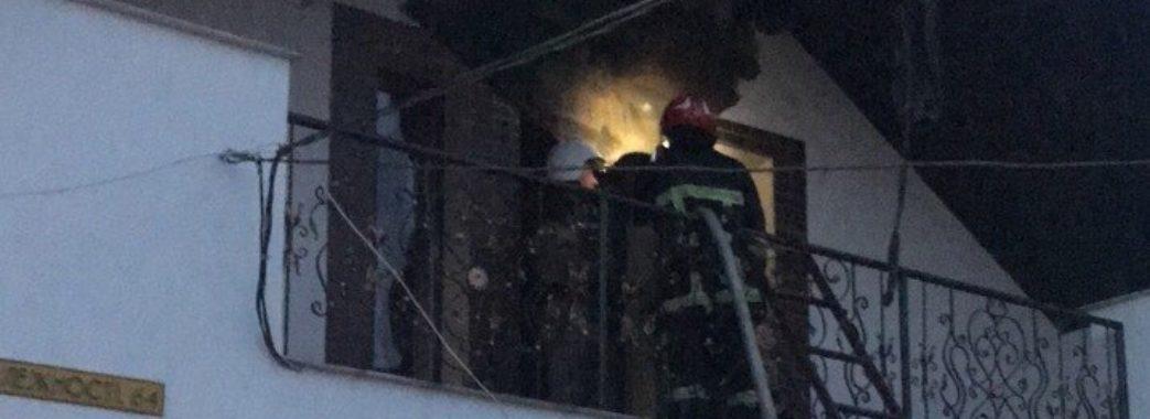 Пожежа у Жовкві: горів житловий будинок (фото)