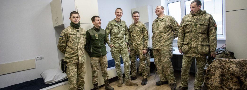 У гуртожиток нового зразка на Яворівщині вже заселились військові