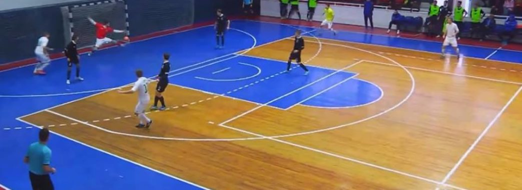 Футзалісти «Енергії» посіли четверте місце Кубка Ліги