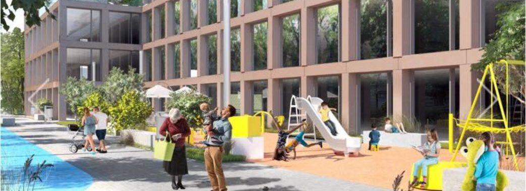 Біля Стрийського ринку збудують 6-поверховий паркінг та офіси