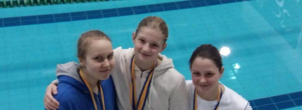 Львів'янка – мультимедалістка чемпіонату України з плавання