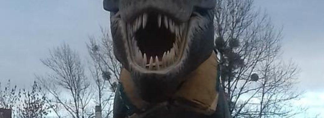 У Львові з'явилися динозаври