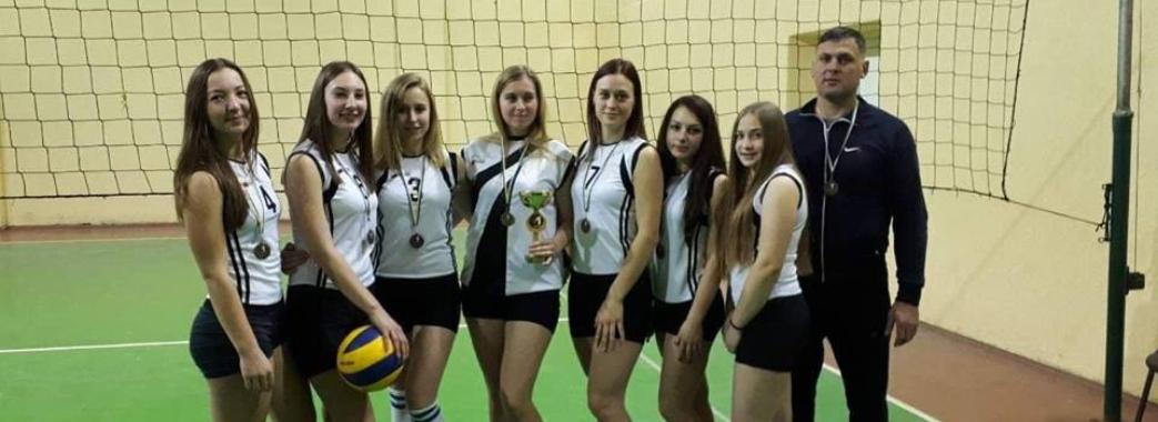Команда волейболісток зі Старосамбірщини перемогла на обласних змаганнях