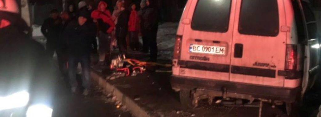 За ніч у ДТП на Львівщині загинуло двоє людей
