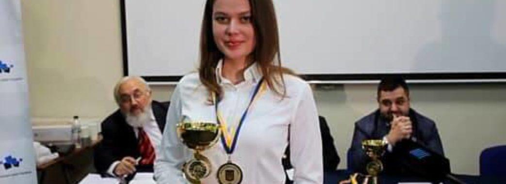 Львів'янка Наталія Букса – чемпіонка України серед жінок