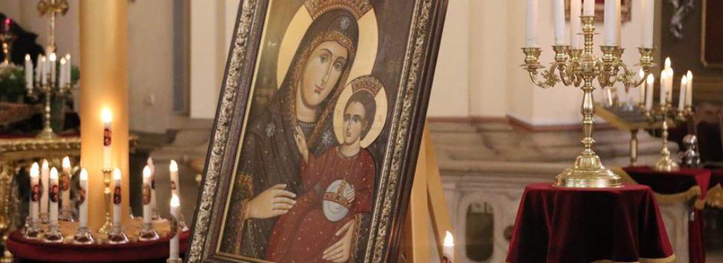 До Собору святого Юра привезли копію Вифлеємської ікони Пресвятої Богородиці