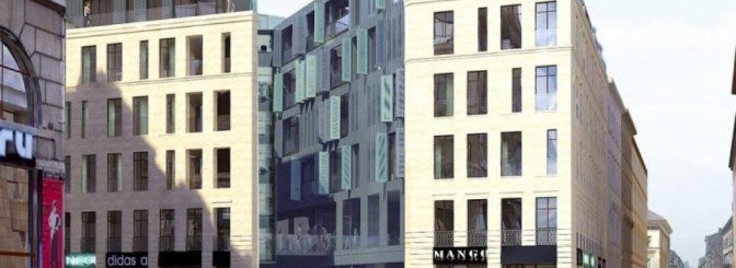 В центрі Львова запланували готель на 6 поверхів