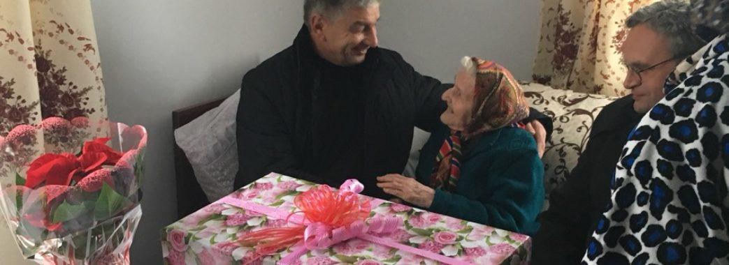 Софія Шальвіра з Жидачівщини відсвяткувала 100-річчя