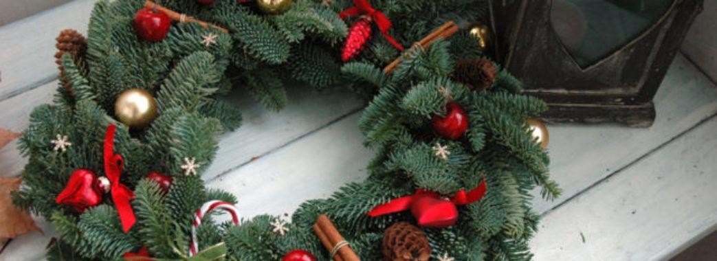 У Львові у Домі Франка навчать плести різдвяні вінки