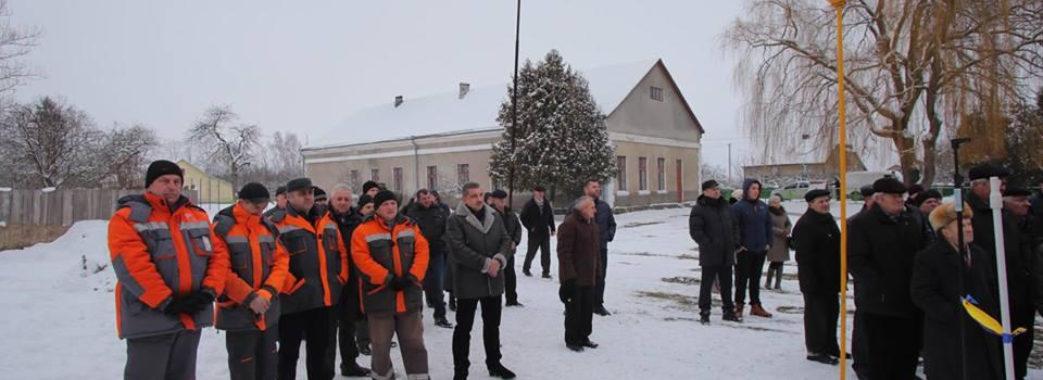 У селі Лавриків на Жовківщині відкрили газопровід