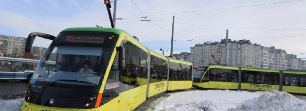 У Львові на Новий рік трамваї курсуватимуть всю ніч