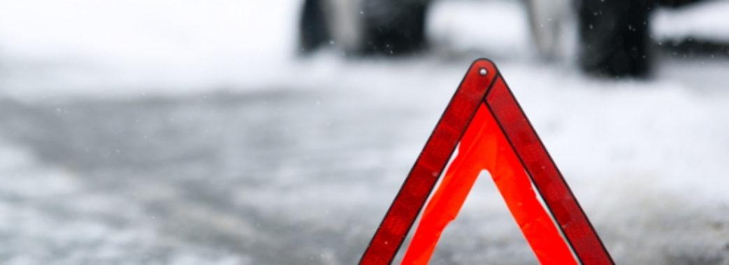 Внаслідок ДТП на Львівщині постраждали дві людини