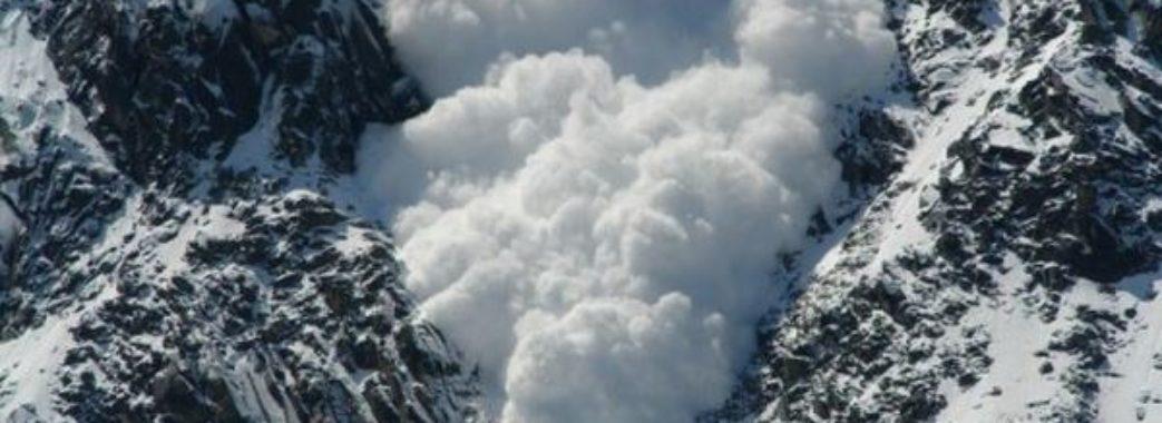 У гірських районнах очікують сходження лавин