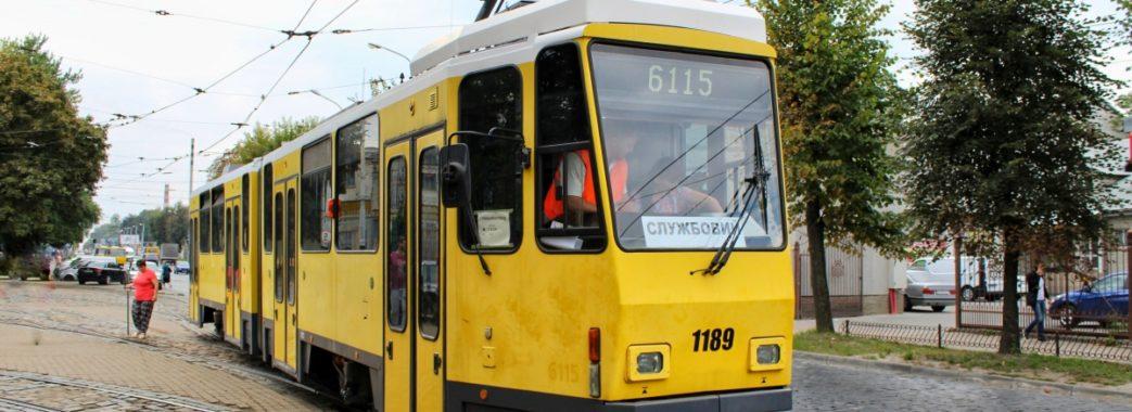 До кінця січня на трамвайні маршрути Львова запустять 15 берлінських вагонів