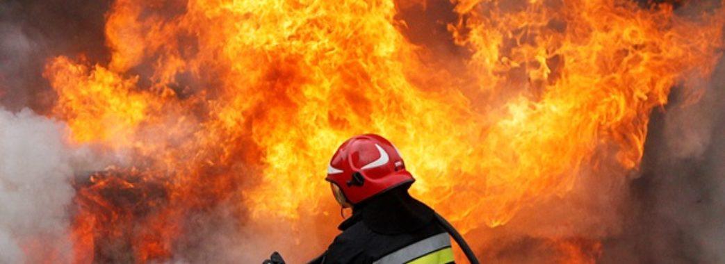 На Сколівщині згорів дерев'яний житловий будинок