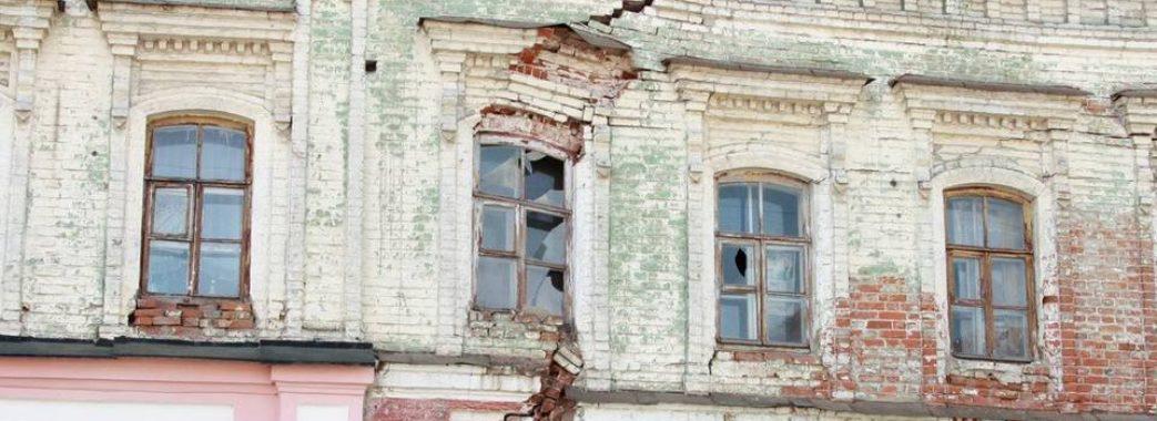 У львові є понад дві сотні аварійних будинків, які можуть обвалитись на голови людей
