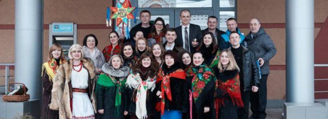 Колектив із Жовківщини колядує у прифронтових містах Донеччини
