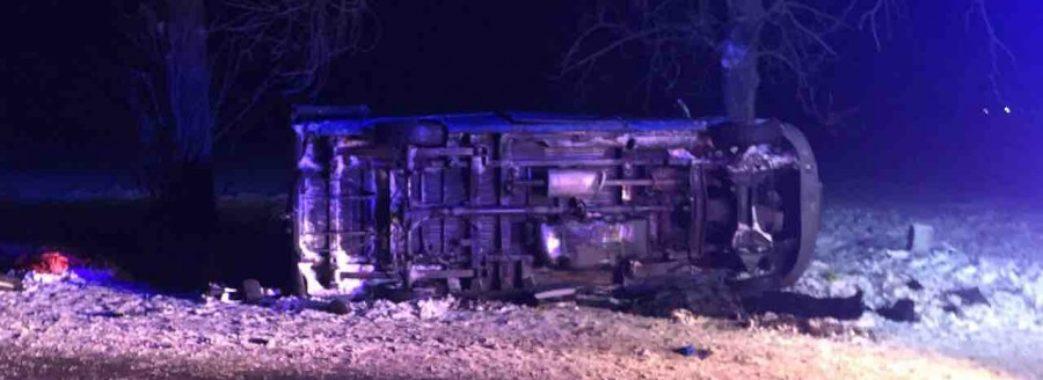 На Сокальщині перекинувся мікроавтобус: загинув водій