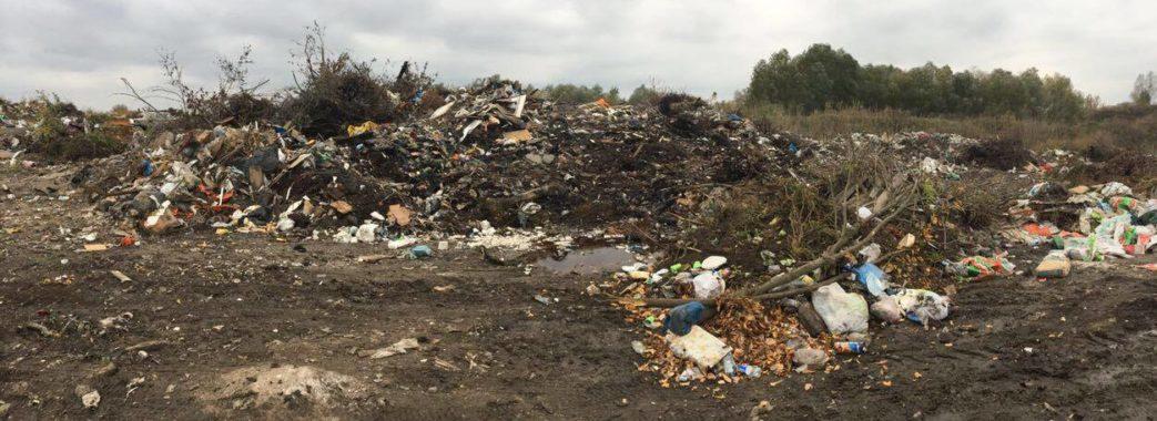 У Львівській області залишилося 40 несанкціонованих сміттєзвалищ