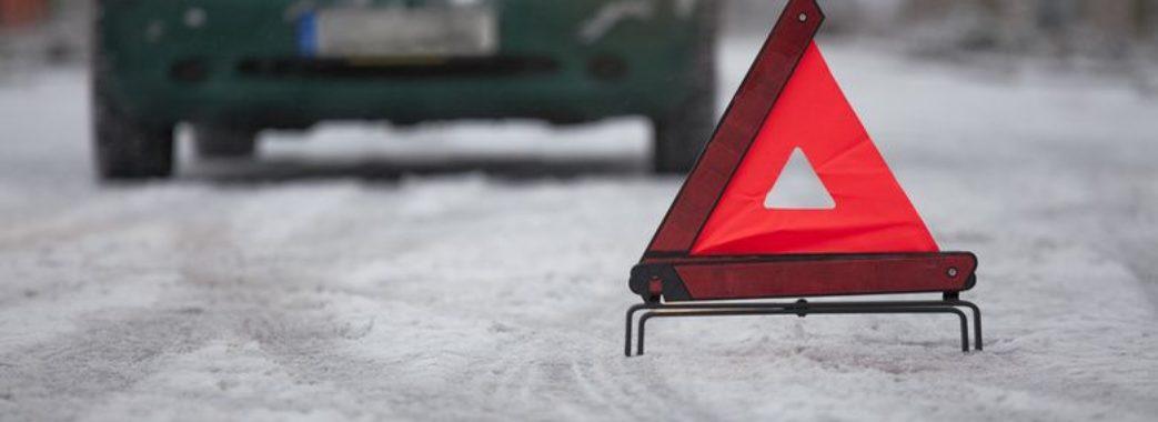 У Старосамбірському районі водій збив двох пішоходів