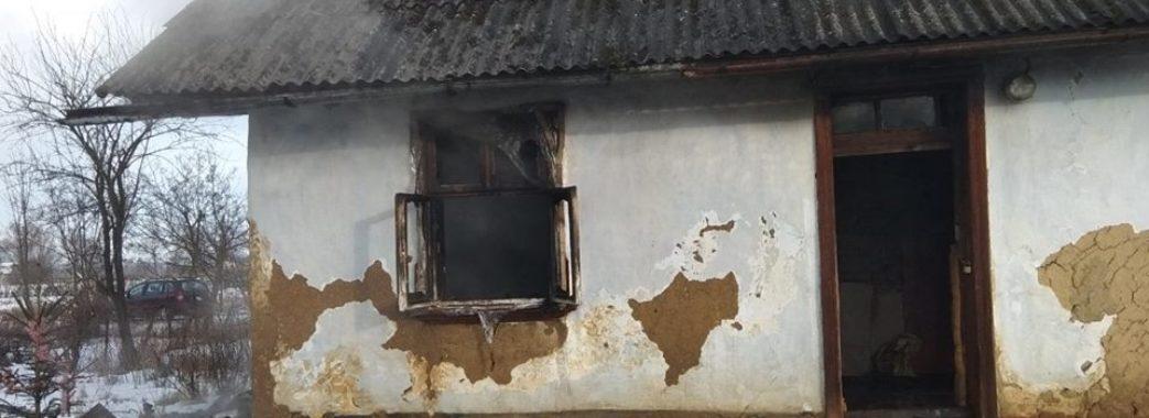 На Жидачівщині двоє людей, що жили без газу та світла, згоріли у власному будинку