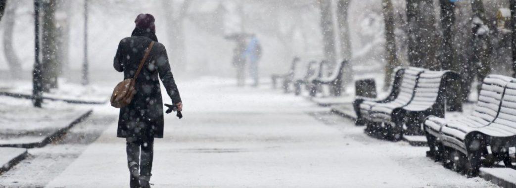 Синоптики попереджають про снігопад та ожеледицю