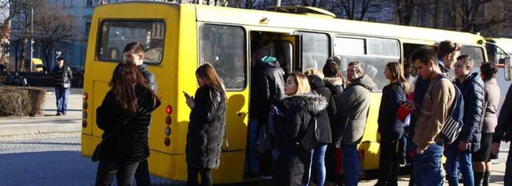 Львів'яни започаткували квест у маршрутках