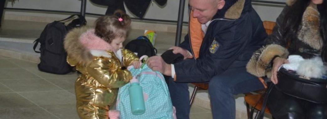 У Львові діти атовців отримали різдвяні подарунки